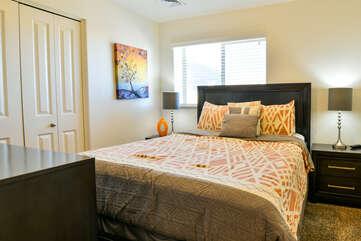 Third bedroom with nightstands