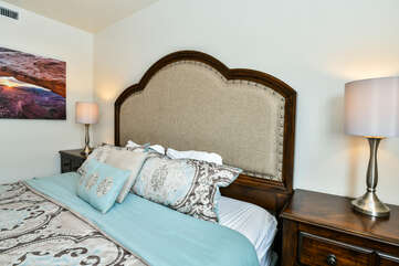 Master bedroom with two nightstands