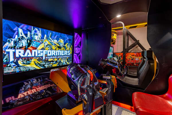 Adults and kids of all ages love this arcade