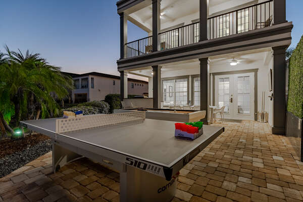 Play a game of ping pong or pool