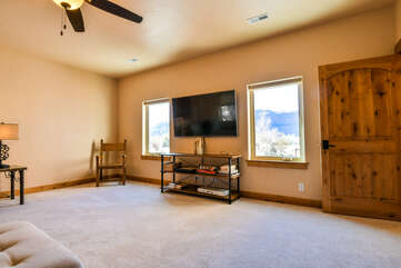 Living Room and Entertainment Area