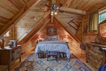 Loft with Queen Bed