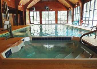 Sapphire Valley Amenities: Indoor Salt Water Pool & Hot Tub