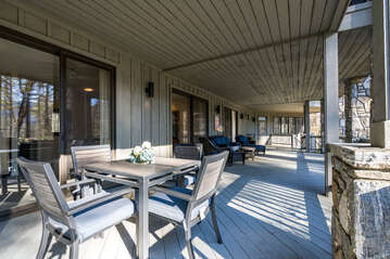 Lower Level Back Porch