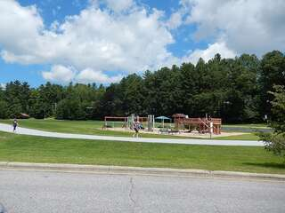 Sapphire Valley Amenities: Playground, Basketball Court, Track, Picnic Tables, Charcoal Grills