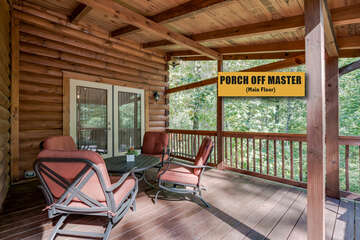 Porch off Master