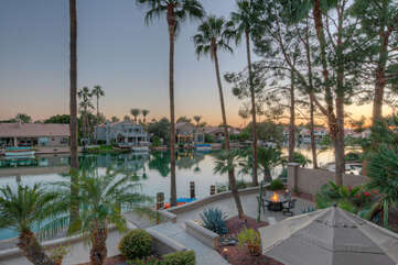 The view of community lakes will WOW you whether you're in the backyard or on upstairs balcony.