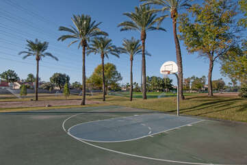 Neighborhood has open green spaces and family friendly parks.