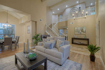 Impress your guests when you entertain in the formal and elegant living room.