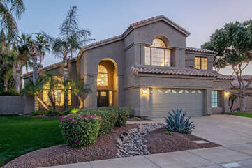 Decadent 4 BR, 3 BA, 2 story home with exciting amenities awaits your arrival.