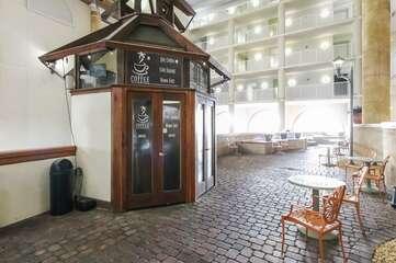 Coffee shop  outside the lobby.