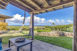 Private lanai for bedroom #4