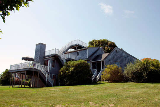 This home is all decked out! 67 The Cornfield Chatham Cape Cod - New England Vacation Rentals