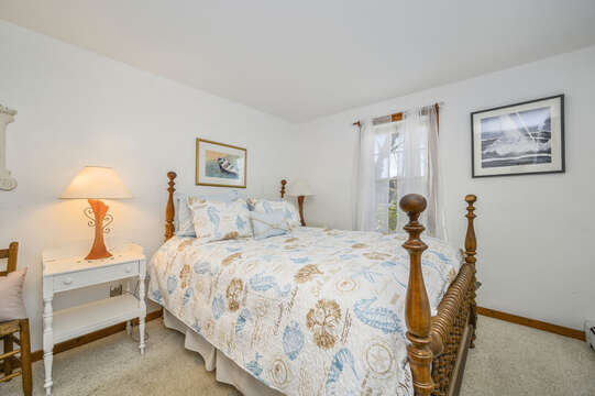 1st floor bedroom with Queen bed-67 The Cornfield Chatham Cape Cod - New England Vacation Rentals