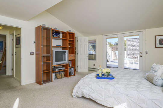 TV - A/C - Access to both bathroom and deck-67 The Cornfield Chatham Cape Cod - New England Vacation Rentals
