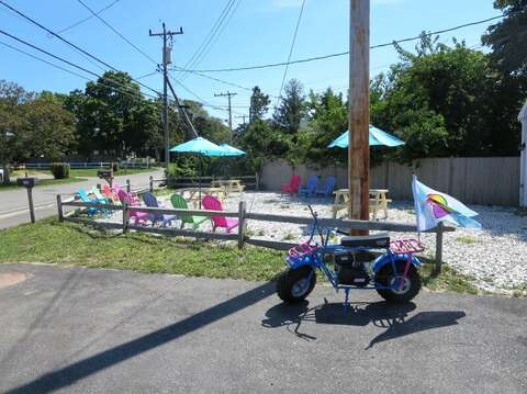 Grab an Italian Ice at Chillers before the beach. Chatham Cape Cod - New England Vacation Rentals