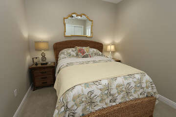 2nd Guest bedroom with Queen Bed
