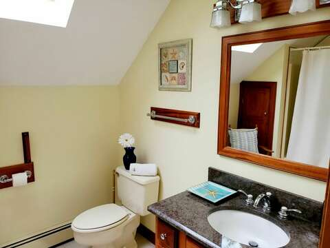 Upper Level Full Bathroom - Welcome to Chatham Tides! 335 Meeting House Rd- Chatham- New England Vacation Rentals
