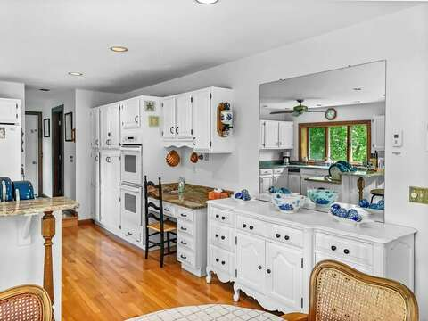 Recently refreshed Kitchen at-335 Meeting House Rd- Chatham- New England Vacation Rentals