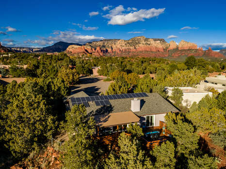 Completed Renovated Home in a Quiet Cul de Sac Surrounded by Red Rock Vistas