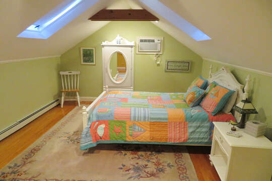 Another view of 2nd floor double bed-- 209 Indian Hill Road Chatham Cape Cod New England Vacation Rentals