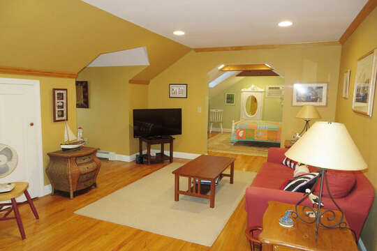 2nd floor Tv Room-- 209 Indian Hill Road Chatham Cape Cod New England Vacation Rentals