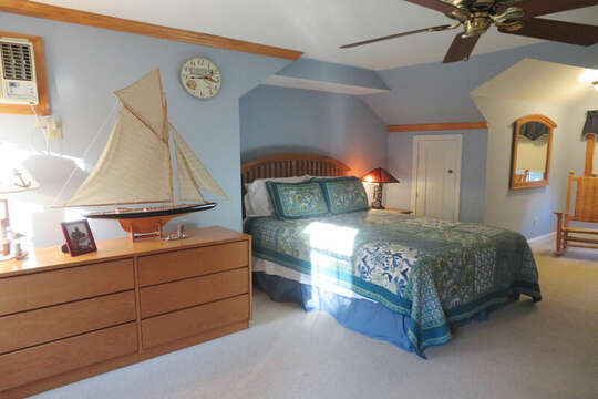 Queen bed- A/C - Access from room to full bath-- 209 Indian Hill Road Chatham Cape Cod New England Vacation Rentals