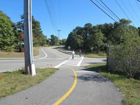 Bike path is just up the road! Chatham Cape Cod New England Vacation Rentals