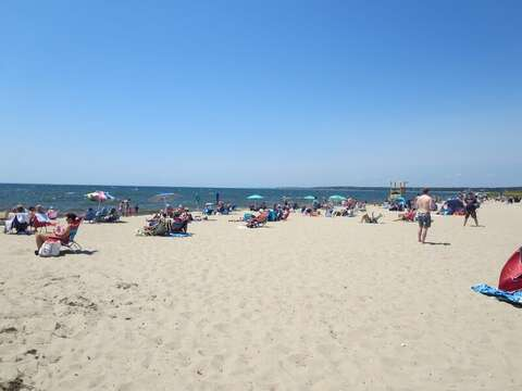 Hardings Beach is a 5 minute drive-Chatham Cape Cod New England Vacation Rentals
