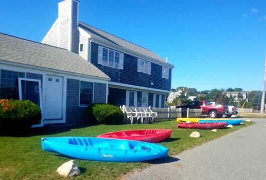 Rent Kayaks at Ridgevale Beach - just a 5 minute drive! Chatham Cape Cod New England Vacation Rentals