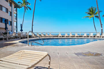 Oceanfront swimming pool
