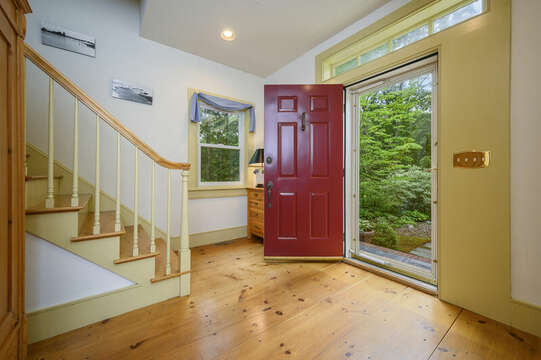 Welcome to Norma's Beach House  Front Entry - 9 Reliance Way Harwich Cape Cod - New England Vacation Rentals