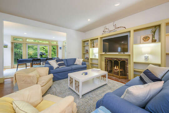 Open Living Area with plenty of comfy seating- 9 Reliance Way Harwich Cape Cod - New England Vacation Rentals