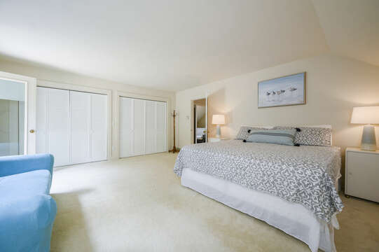 2nd Floor Bedroom #3 with King bed - 9 Reliance Way Harwich Cape Cod - New England Vacation Rentals