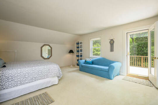 2nd Floor Bedroom #4 with private deck - 9 Reliance Way Harwich Cape Cod - New England Vacation Rentals