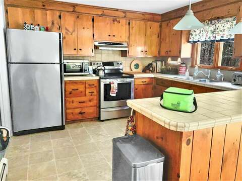 all stainless appliances-- 209 Indian Hill Road Chatham Cape Cod New England Vacation Rentals