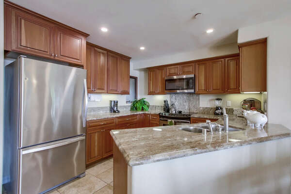 Fully Equipped Kitchen in our Vacation Rental in San Diego
