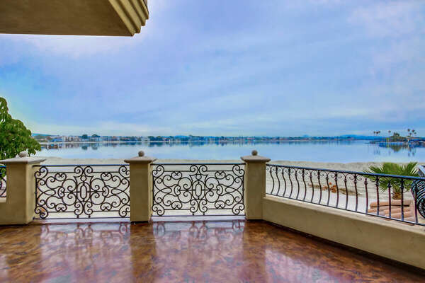 Expansive Bay Views from the Large Deck
