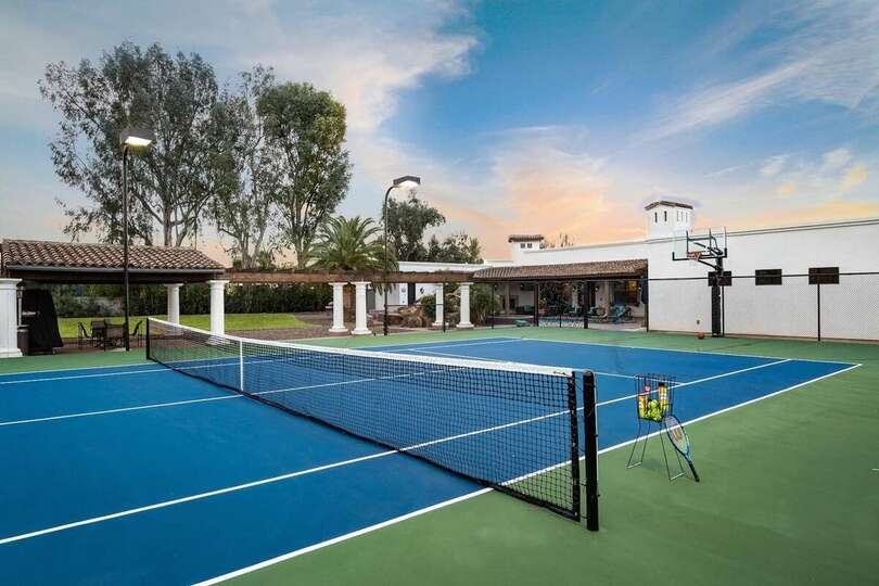 Tennis Court and Basketball Court at the Casa Palacio