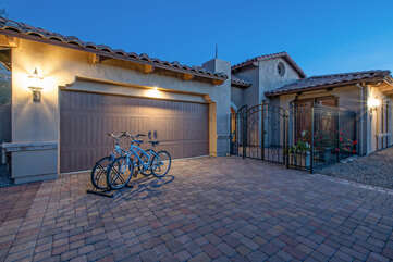 Beautiful home is well appointed inside and out and overflows with southwestern charm!