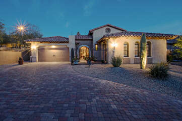Welcome to our spectacular and secluded NE Mesa home in a family-friendly and gated community