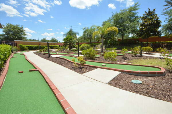 On-site facilities:- Crazy golf course