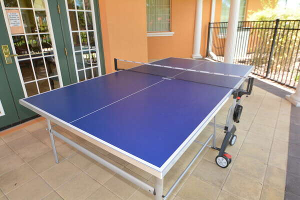 On-site facilities:- Ping pong table