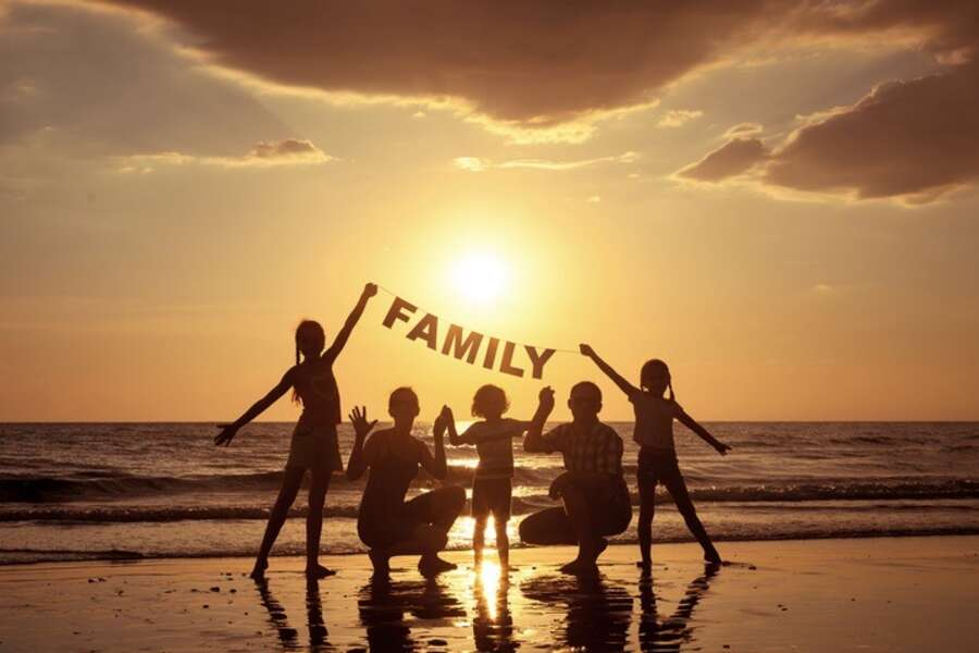 Family Fun in the Sunset!