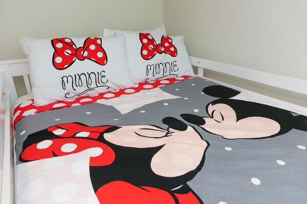 Themed bedding will make them excited for bedtime