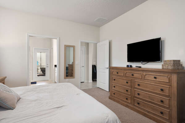 Enjoy having your own TV and ensuite bathroom