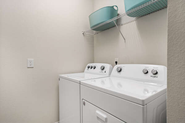 Personal washer and dryer for your convenience