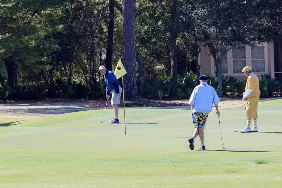 Golfing at Orange Beach Golf Center