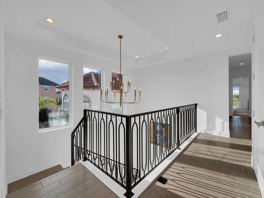 Head upstairs to see what else this beautiful home has in store