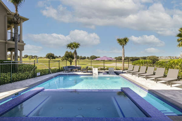 Soak in the Florida sunshine on one of the 7 sun loungers